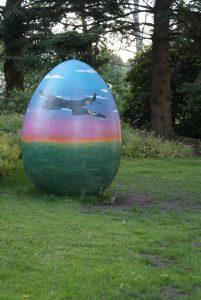 Ett roligt ägg vi passerade