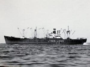 S.S.Reuben Tipton som torpederades 1942, tre omkomna däribland min släkting Edvin Sigfrid Lawson