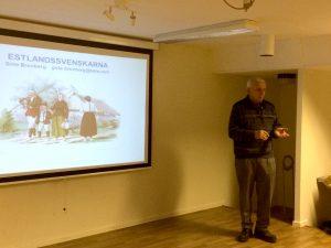 Här berättar Göte Brunberg om Estlands svenskar.